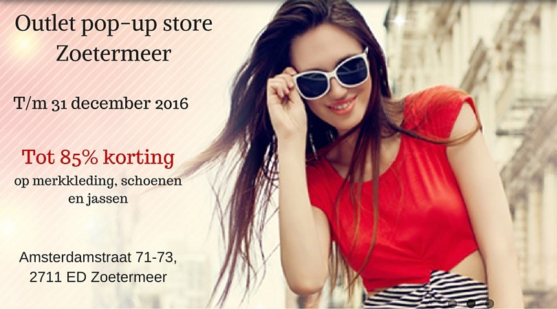 pop up store zoetermeer